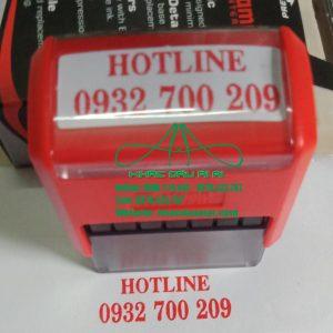 Dấu hotline số điên thoại